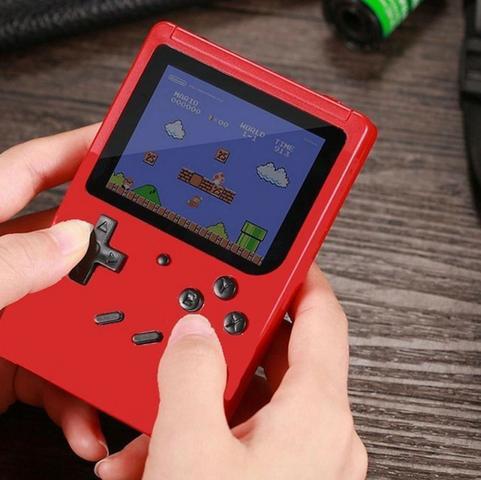 Video game portatíl com 400 jogos clássicos novo na caixa