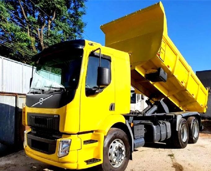 Volvo vm 270 truck 6x2 caçamba basculante ano e modelo 15