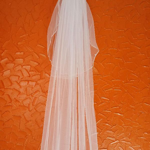 Acessórios para noiva véu longo 2,95mt