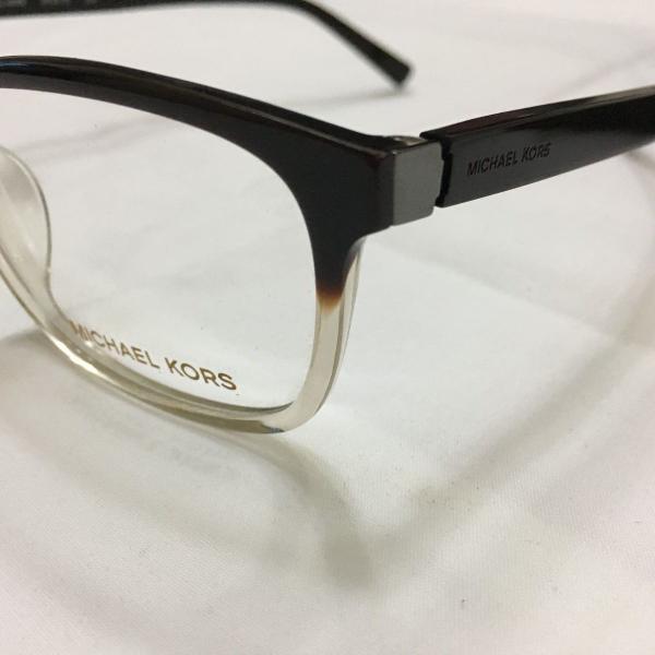Armação óculos michael kors mk857 acetato preto