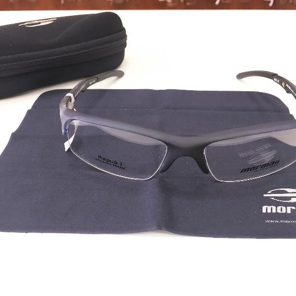 Armação óculos mormaii 1220 690 acetato preto masculino