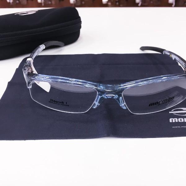 Armação óculos mormaii 1220 696 acetato azul masculino