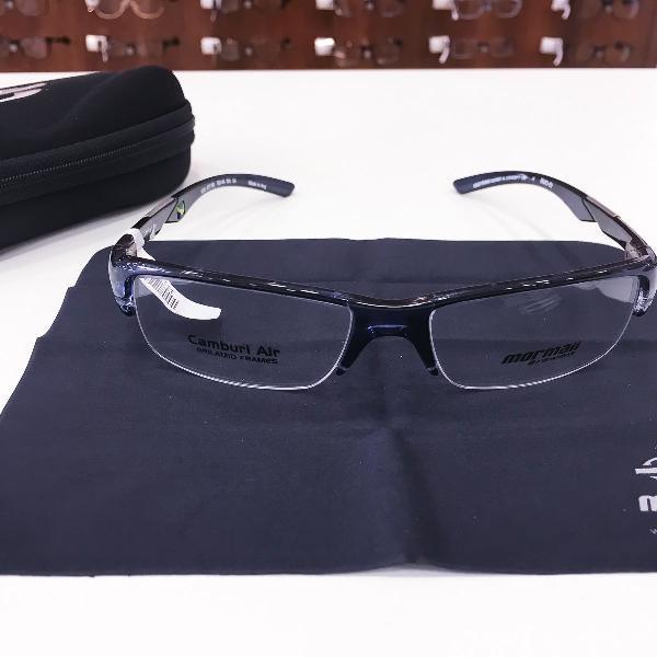 Armação óculos mormaii 1235 477 acetato azul masculino