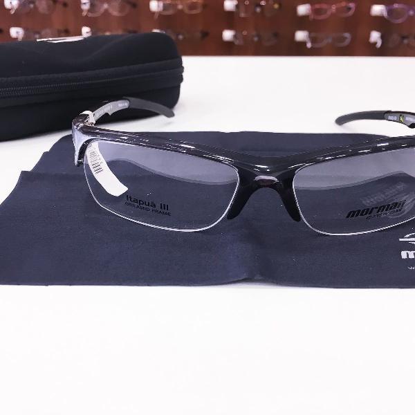 Armação óculos mormaii 1265 942 acetato preto masculino