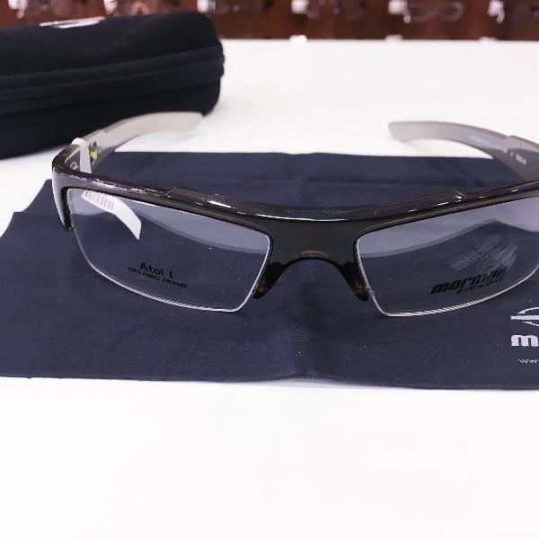 Armação óculos mormaii 1267 729 acetato marrom masculino