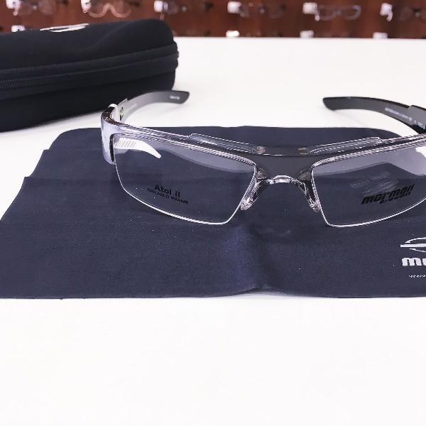 Armação óculos mormaii 1268 942 acetato cinza masculino
