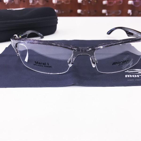 Armação óculos mormaii 1399 942 acetato grafitte
