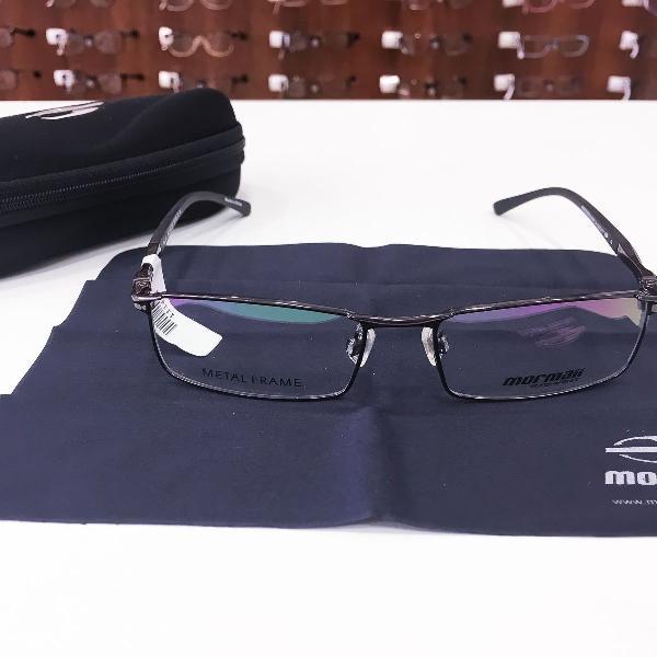 Armação óculos mormaii mo1517 103 metal preto masculino