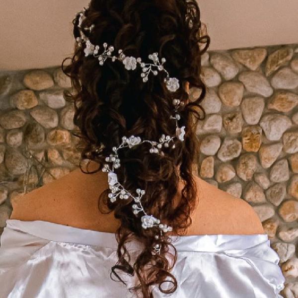 Arranjo de cabelo - 1.20m de comprimento