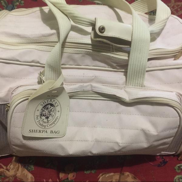 Bolsa para transporte de cães e gatos sherpa bag