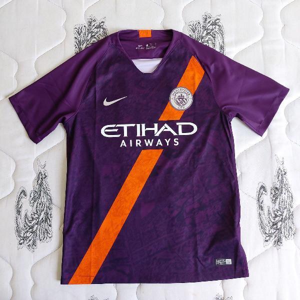 Camisa manchester city third 2018/2019 s/n