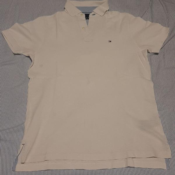 Camisa polo tommy branca