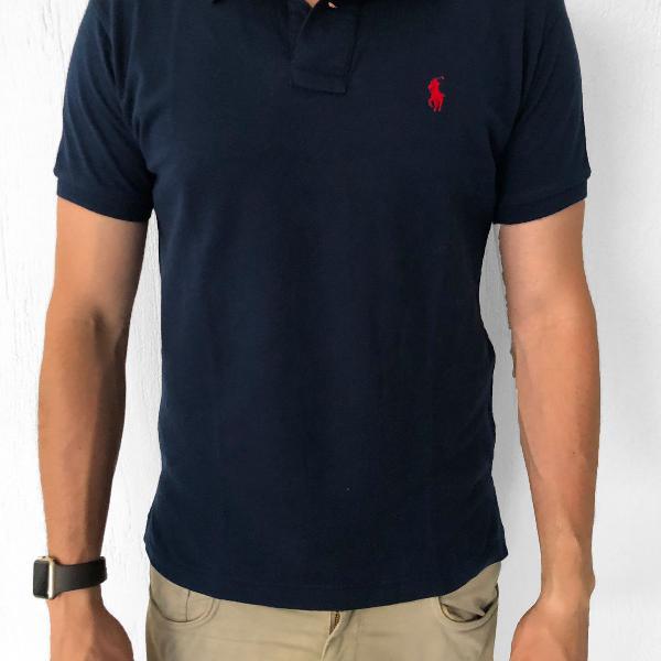 Camisa polo masculina - ralph lauren - azul