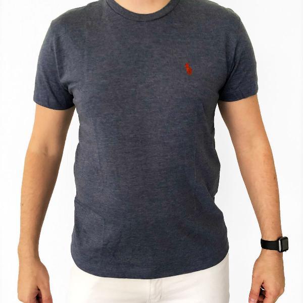 Camiseta masculina ralph lauren - branca