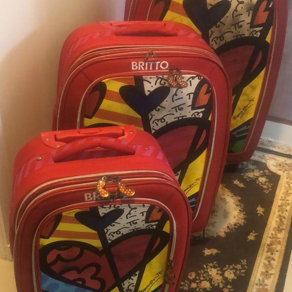 Conjunto de malas da linha romeiro britto