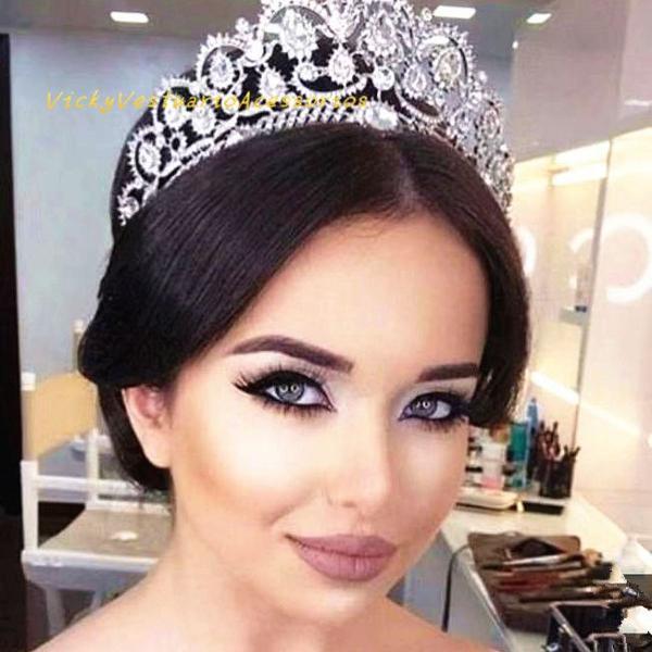 Coroa tiara porta coque prateado para noiva festa casamento