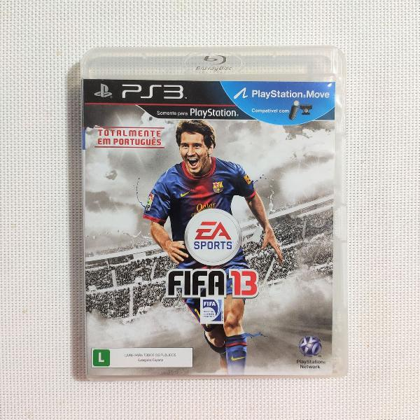 Jogo play 3 'fifa 13'