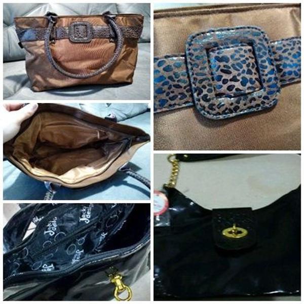 kit promoção duas bolsas novas