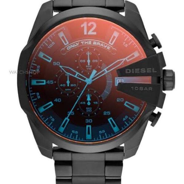 Relógio diesel importado top maquinário quartz