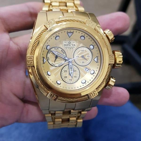 Relógio invicta original bolt zeus 23911 masculino