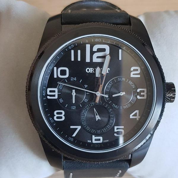 Relógio masculino orient analógico esportivo mpscm003 p2px