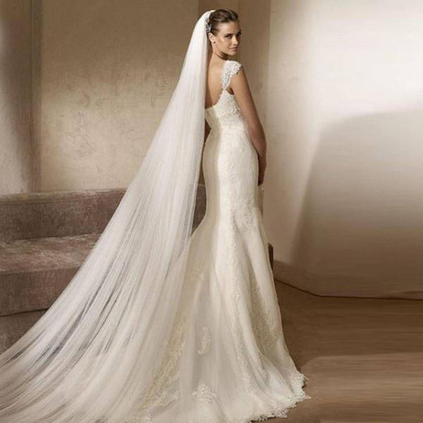 Véu para noiva longo 3mt