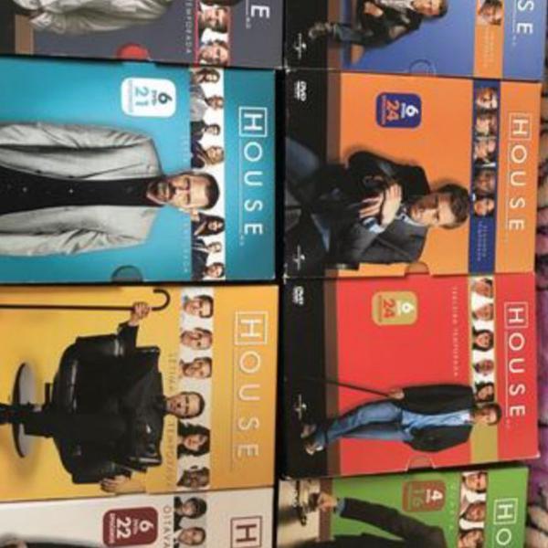 8 temporadas de doctor house