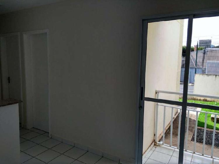 Apartamento locação 44m2 de 02 dormitórios sacada