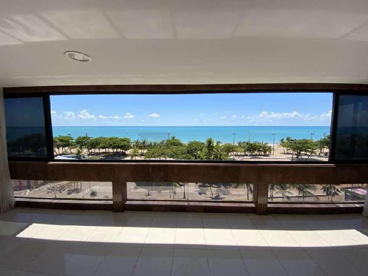 Apartamento beira mar com 4 quartos na pajuçara - 113