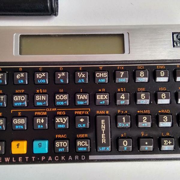 Calculadora científica hp 11c original