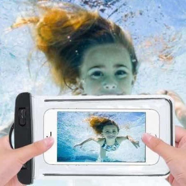 Capinha de celular a prova d'água universal