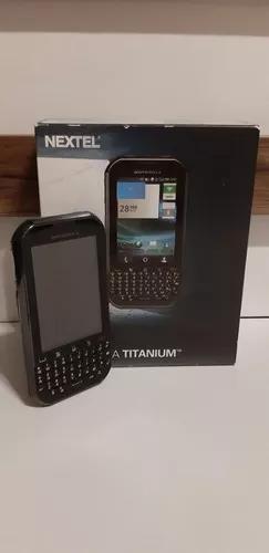 Celular Motorola Nextel Titanium - Não Liga - Retirada