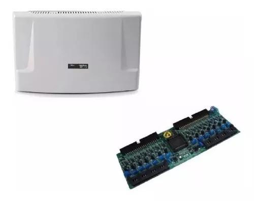 Central cp 112 maxcom + placas 16 ramais desb. intelbras