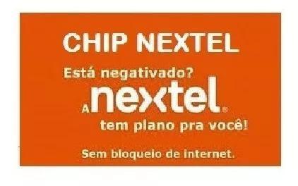 Chip nextel happy novo
