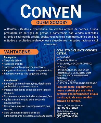 Conven - gestão e conferência em vendas