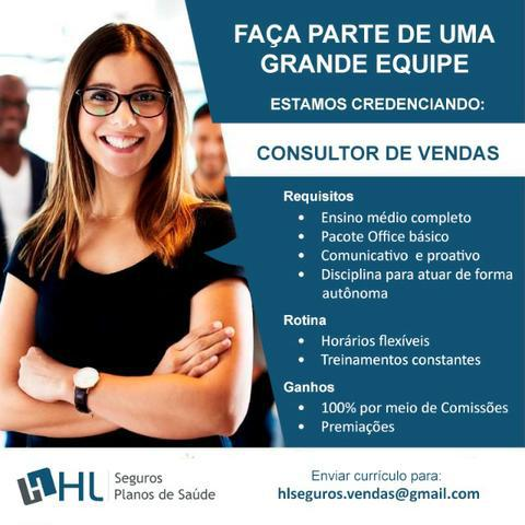 Consultor de vendas (autônomo)
