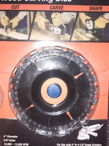 Disco de corte diamantado moedor triturador na caixa