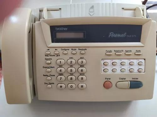 Fax brother modelo personal fax 275