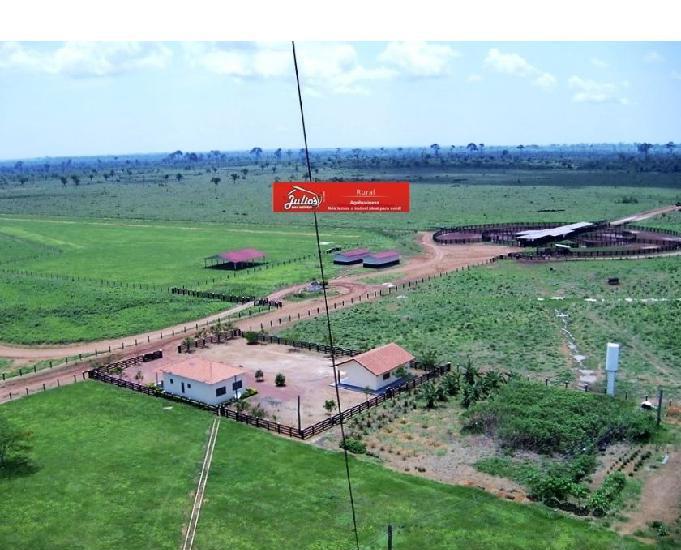 Fazendas no mt pecuária e agricultura nova bandeirantes