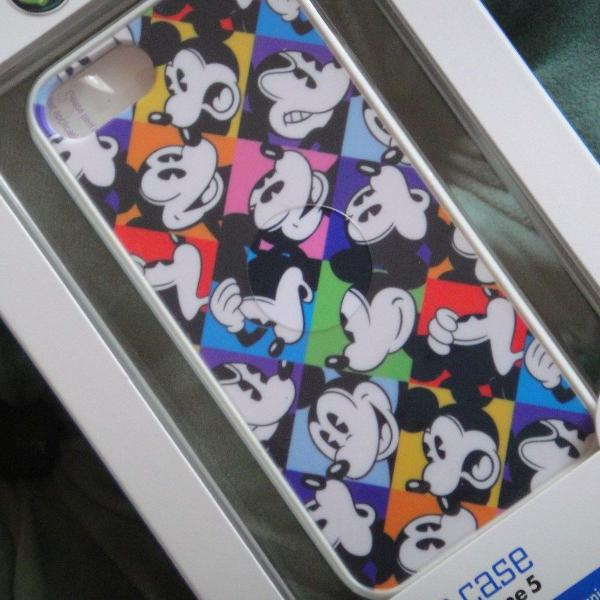 Iphone 5, 5s e 5c capa mickey exclusividade park disney