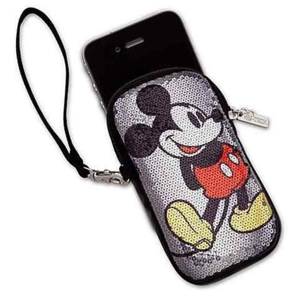 Iphone 5s, 6s e 7 capa e case do mickey e minnie
