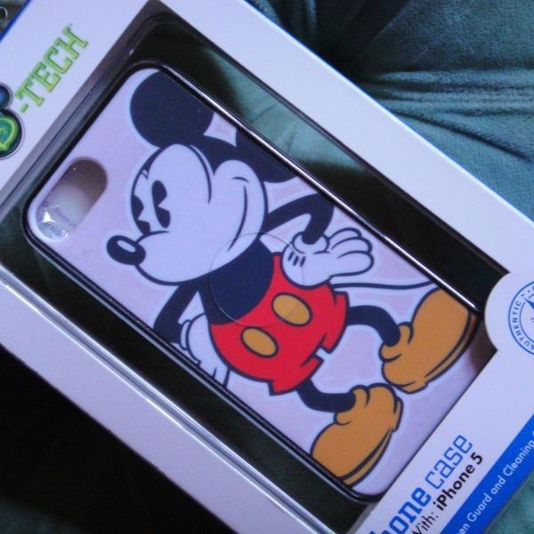 Iphone 5c capa mickey exclusividade park disney