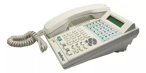 Kit pabx intelbras corp 8000 + telefone ti 730i - 8 linhas