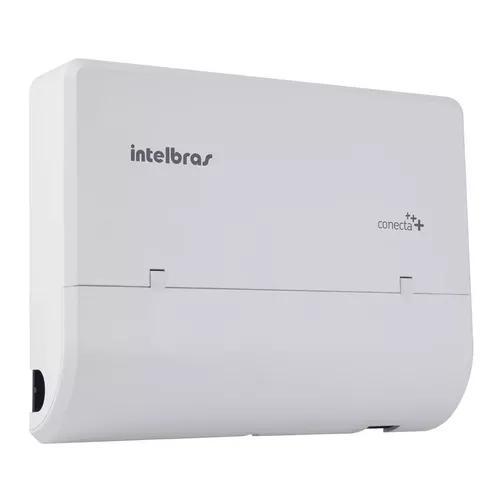 Micro central pabx intelbras conecta mais 2 linha 8r + dect