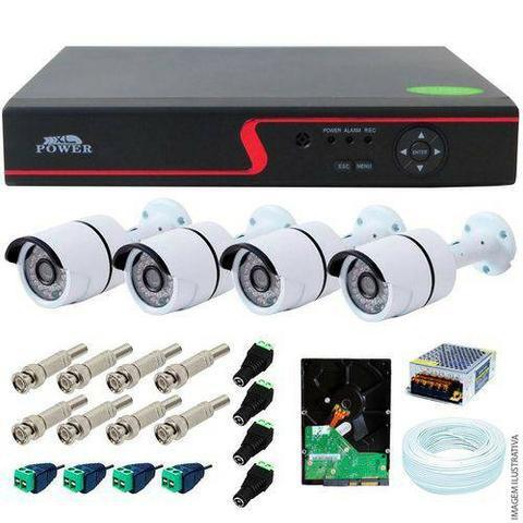 Monitore seu patrimonio com câmeras de segurança