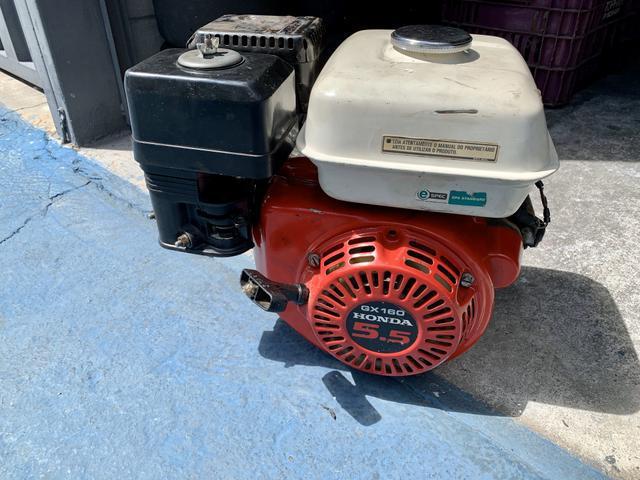 Motor estacionário honda 5.5 hp partida elétrica