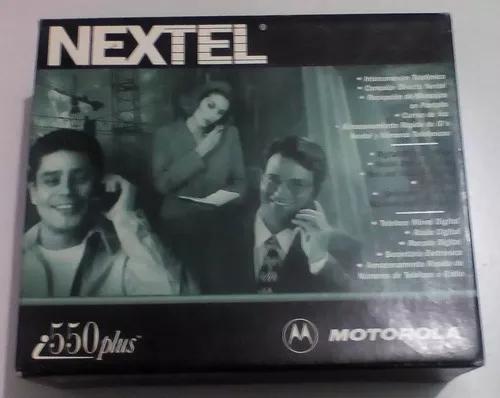 Motorola i550plus - nextel - para colecionadores