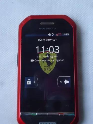 Motorola i867 ferrari -nextel, edição especial, usado