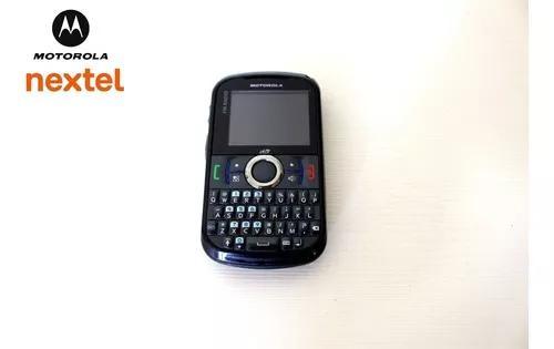 Nextel motorola i475 qwerty, câmera, gps e rádio fm -