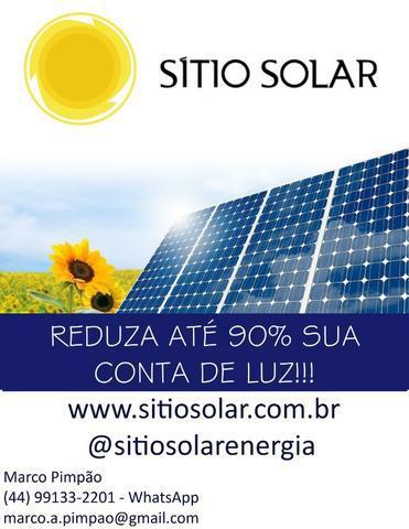 Projeto e instalação de geradores de energia solar